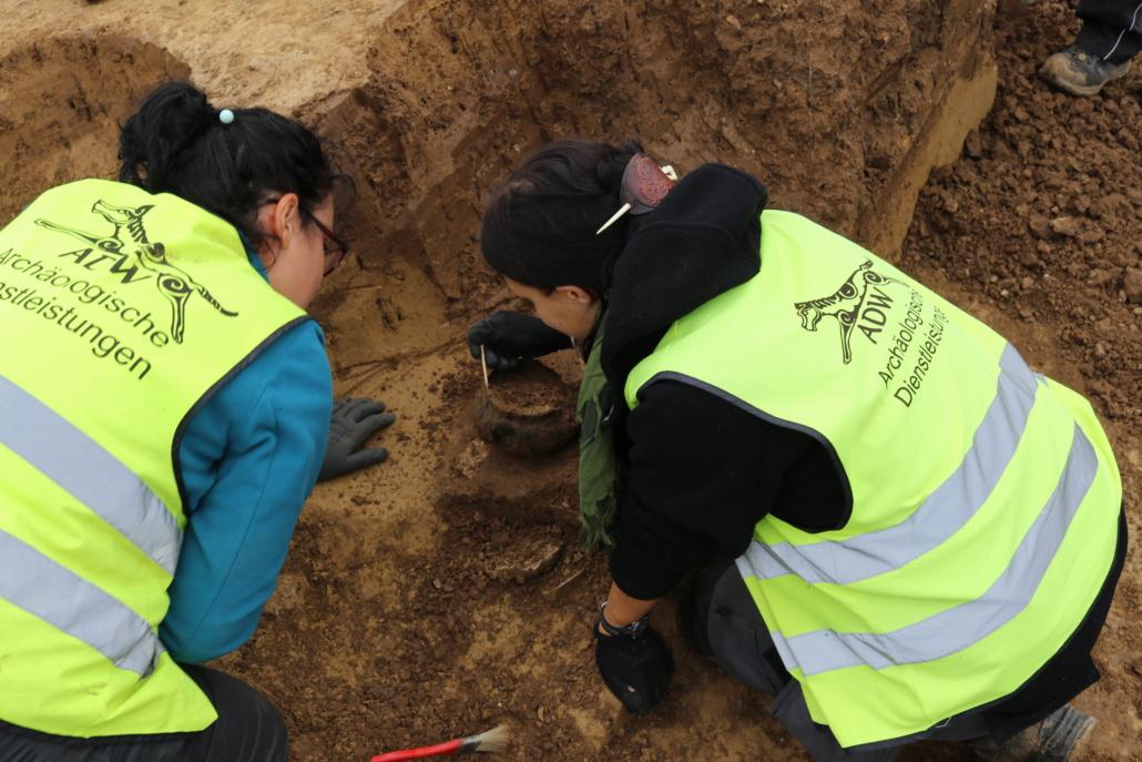Ausgrabung Archäologie