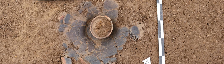 Ausgrabung, Keramik